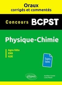 Ucareoutplacement.be Physique-chimie BCPST Concours Agro-Véto, ENS, G2E - Oraux corrigés et commentés Image