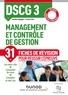 Aurélien Ragaigne et Caroline Tahar - DSCG 3 Management et contrôle de gestion - Fiches de révision.