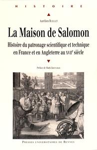 Galabria.be La Maison de Salomon - Histoire du patronage scientifique et technique en France et en Angleterre au XVIIe siècle Image
