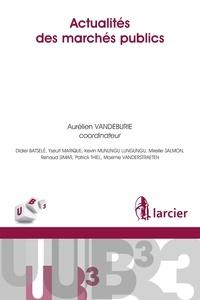 Actualités des marchés publics - Aurélien Vandeburie |