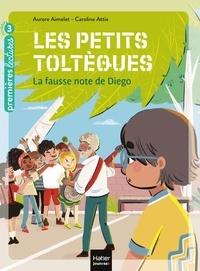 Aurore Aimelet et Caroline Attia - Les petits toltèques Tome 2 : La fausse note de Diego.
