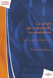 Aurore Chaigneau - Le droit de propriété en mutation - Essai à la lumière du droit russe.