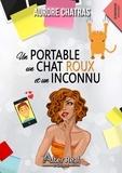 Aurore Chatras - Un portable, un chat roux et un inconnu.