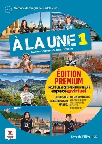 Aurore Jarlang et Morgane Pellé - A la une 1 A1 - Livre de l'élève. 1 CD audio