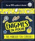 Aurore Meyer - Enigmes en poche - Fais marcher ton cerveau !.