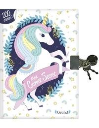 Aurore Meyer et Sophie Rohrbach - Mon carnet secret licornes - Avec 200 stickers.