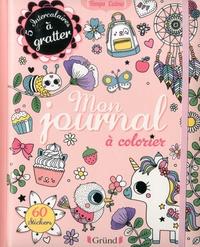Aurore Meyer et Stéphanie Rousseau - Mon journal à colorier.