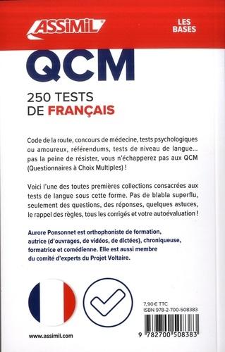 250 tests de français. Niveau collège