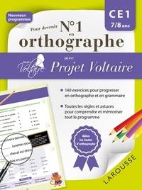Aurore Ponsonnet - Pour devenir N° 1 en orthographe avec Projet Voltaire - CE1.