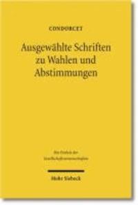 Ausgewählte Schriften zu Wahlen und Abstimmungen.
