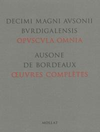 Ausone de Bordeaux - Oeuvres complètes - Edition bilingue français-latin. 1 Cédérom