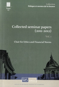 Histoiresdenlire.be Collected seminar papers (2011-2012) - Volume 1 Image