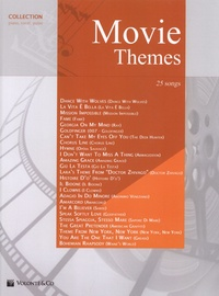 Auteurs Divers - Movie themes collection piano.