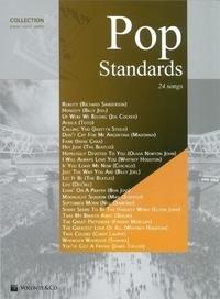 Auteurs Divers - Pop standards collection piano, voix, guitare.