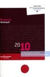 Autorité de la concurrence - Autorité de la concurrence - Rapport annuel 2010. 1 Cédérom