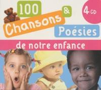 Formulette production - 100 chansons & poésies de notre enfance - 4 CD audio.