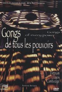 Patrick Kersalé - Gongs de tous les pouvoirs - DVD vidéo.