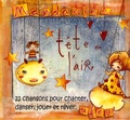Mandarine - Tête en l'air - CD audio.