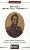 Auxonne-Marie-Théodose de Thiard - Souvenirs diplomatiques et militaires.