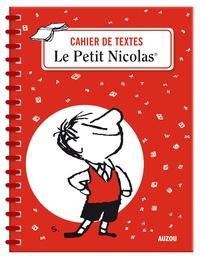 Auzou et René Goscinny - Cahier de textes Le Petit Nicolas - Avec des étiquettes et des autocollants.
