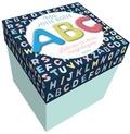 Auzou - Ma jolie boîte ABC - Lettres en bois magnétiques.