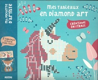 Auzou - Mes tableaux en Diamond Art - Renard et Licorne - 2 tableaux et plus de 2500 strass !.