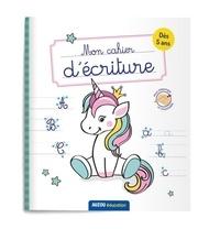 Auzou - Mon cahier d'écriture - Licorne.