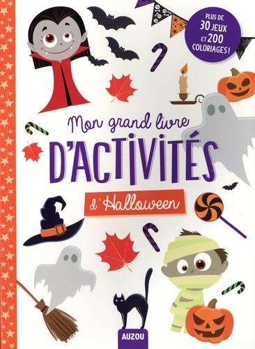 Mon grand livre d'activités d'Halloween