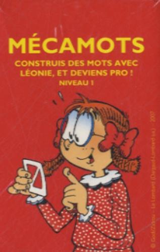 Averbode - Mécamots - Construis des mots avec Léonie, et deviens pro ! Niveau 1.