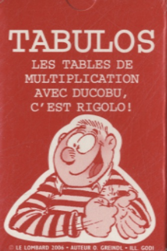 Averbode - Tabulos - Les tables de multiplication avec Ducobu, c'est rigolo !.