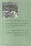 Avicenne - Commentaire sur le livre Lambda de la Métaphysique d'Aristote (chapitres 6-10).