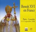 Benoît XVI - Benoît XVI en France - Paris-Lourdes, 12-15 septembre 2008 - 3 CD audio.