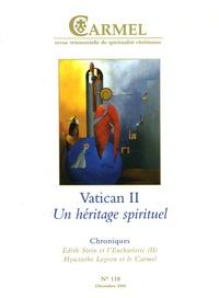 Jean-François Lefebvre et Michel Gitton - Carmel N° 118 décembre 2005 : 1965-2005 Vatican II - Un héritage spirituel.