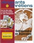 Françoise Vintrou - Dirigeants chrétiens N° 52, Mars-Avril 20 : Entreprendre en espérance.