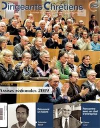 Anonyme - Dirigeants chrétiens N° 96, juillet-août  : Assises régionales 2019.