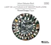 Jean Sébastien Bach - L'art de la fugue à St-Benoit-sur-Loire. 2 CD audio