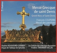 AVM DIFFUSION - Messe Grecque de saint Denis - CD
