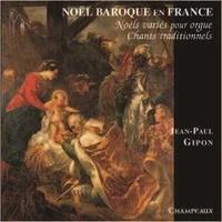 AVM DIFFUSION - Noël baroque en France. Noëls variés pour orgue, chants traditionnels, avec 1 CD audio
