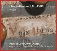Claude-Bénigne Balbastre - Noëls.