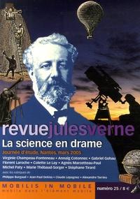 Geneviève Champeau-Fonteneau et Gabriel Gohau - Revue Jules Verne N° 25 : La science en drame.