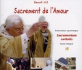 Benoît XVI - Sacrement de l'Amour - 3 CD audio.