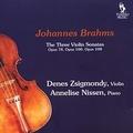 Johannes Brahms - The Three Violin Sonatas.