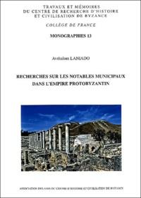 Recherches sur les notables municipaux dans lEmpire protobyzantin.pdf