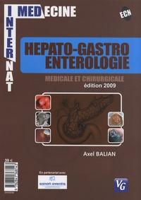 Axel Balian - Hépato-gastro-entérologie médicale et chirurgicale.