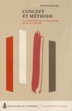 Axel Cherniavsky - Concept et méthode - La conception de la philosophie de Gilles Deleuze.