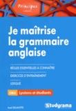 Axel Delmotte - Je maîtrise la grammaire anglaise.