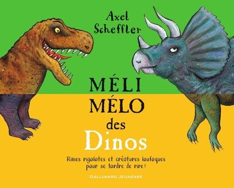 Axel Scheffler - Méli-mélo des Dinos.
