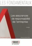 Axelle Astegiano-La Rizza - Les assurances de responsabilité de l'entreprise.