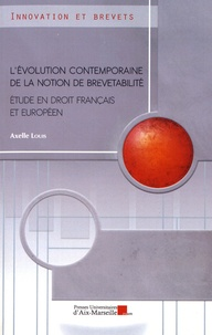 Histoiresdenlire.be L'évolution contemporaine de la notion de brevetabilité - Etude en droit français et européen Image