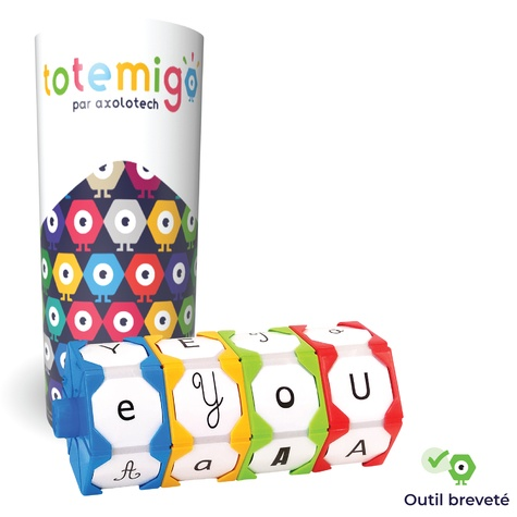 Totemigo. Tube 4 hexagones